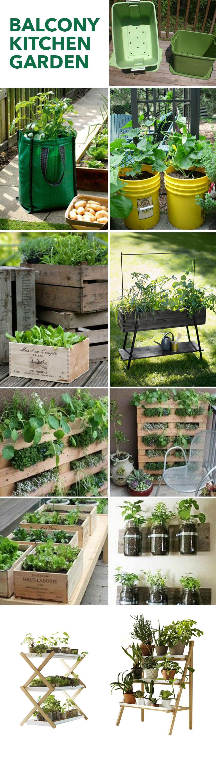 Balcony Kitchen Garden Container Ideas For Balcony Garden Folk Jee