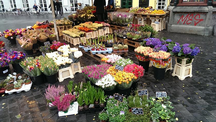 Copenhagen flower stands