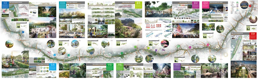 Nikken-Sekkei-Masterplan-Singapore-rail-coridor-proposal