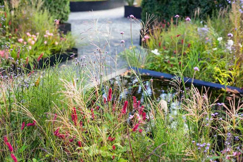 CHANEL garden at Saatchi gallery