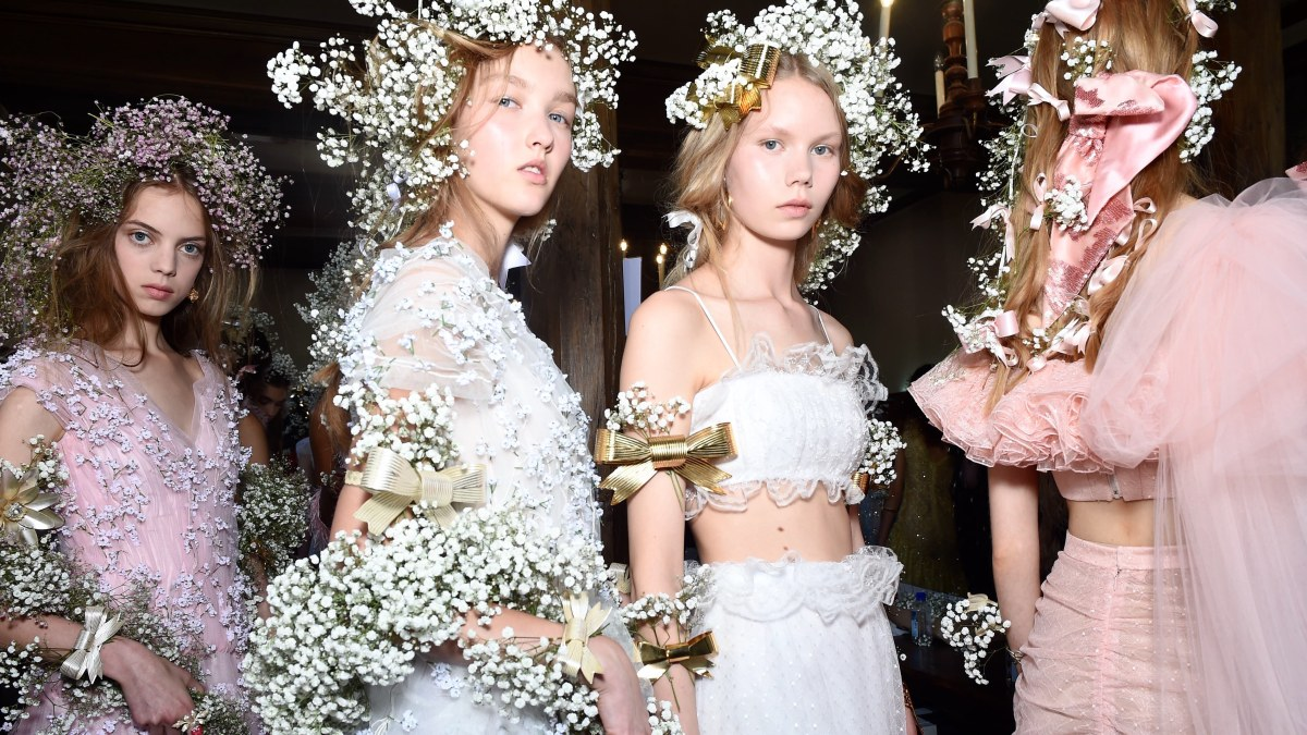 Rodarte loves Baby's-breath